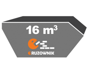 Kontener na gruz - 16 m<sup>3</sup> - 690 zł