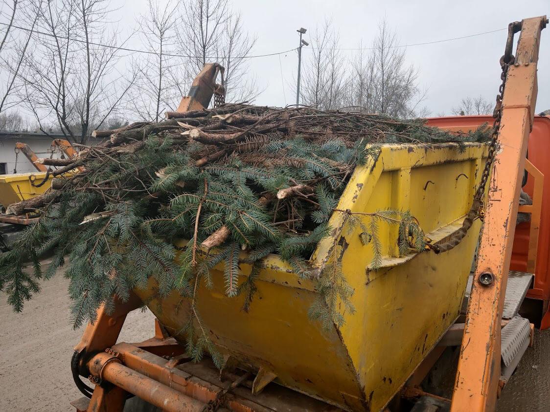 Wywóz odpadów zielonych Poznań